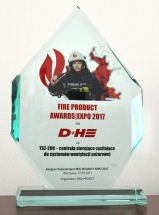 FIRE PRODUCT AWARD 2017 DH Polska
