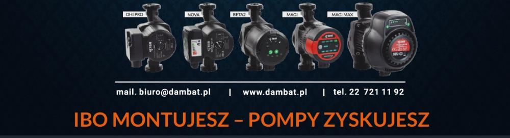 DAMBAT promocja pomp maj 2020